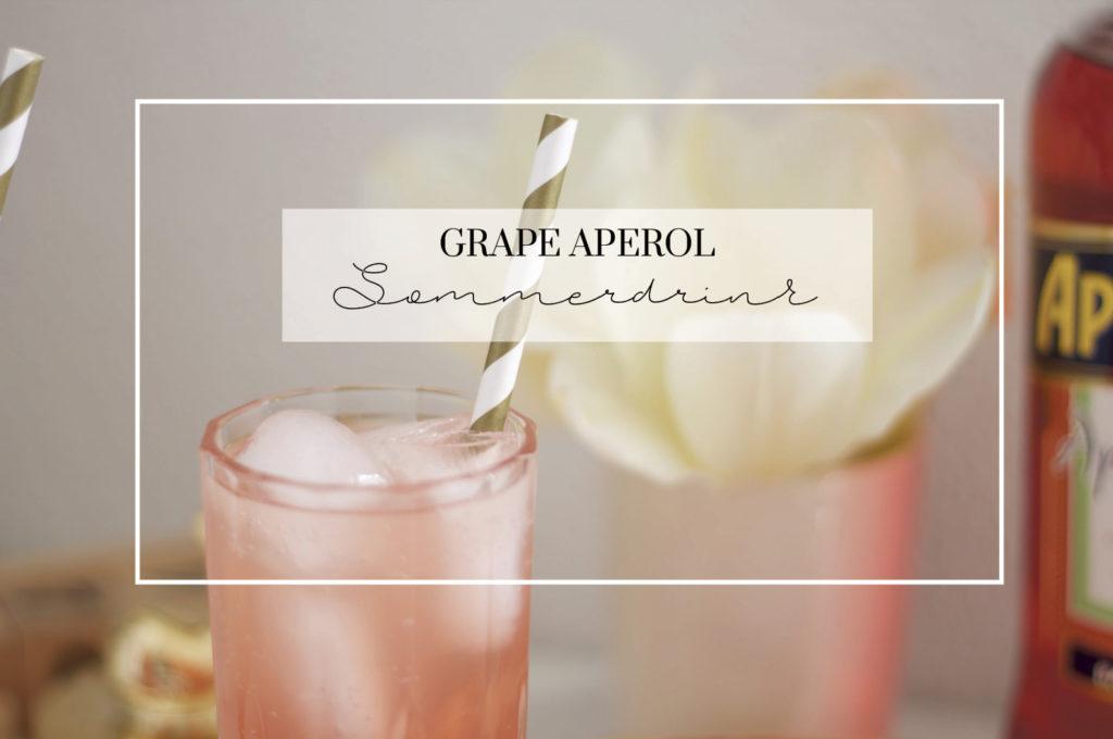 GRAPEFRUGT APEROL DRINK