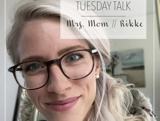 tuesday talk mrs. mom