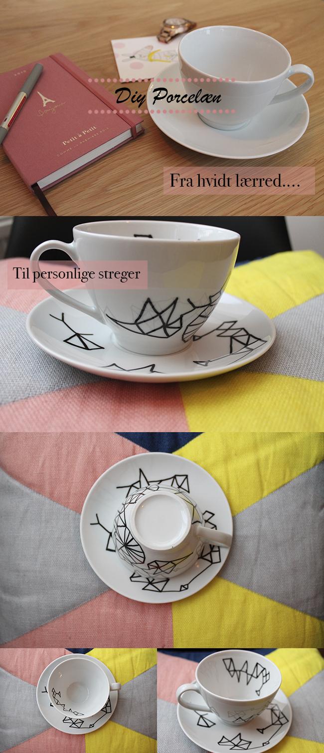 DIY porcelæn
