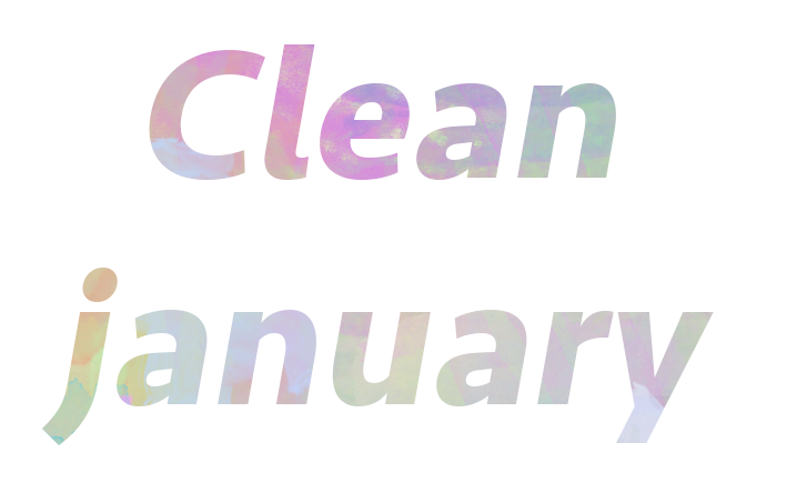 clean january4