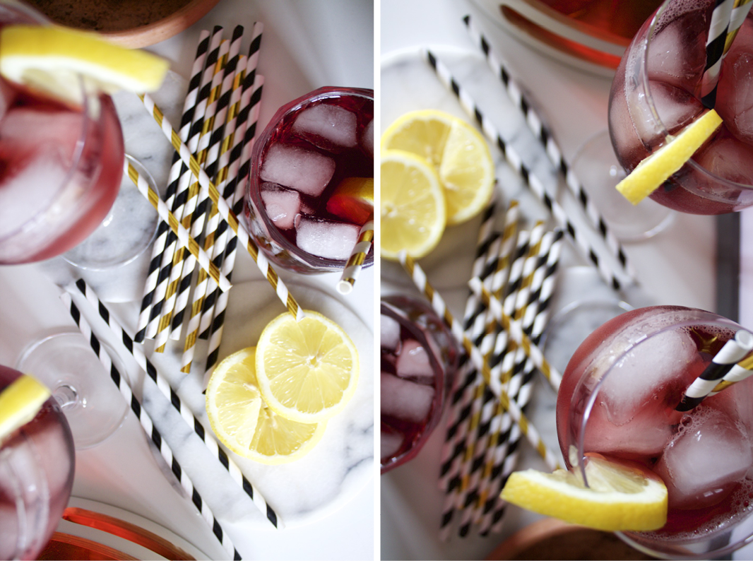 tinto de verano collage