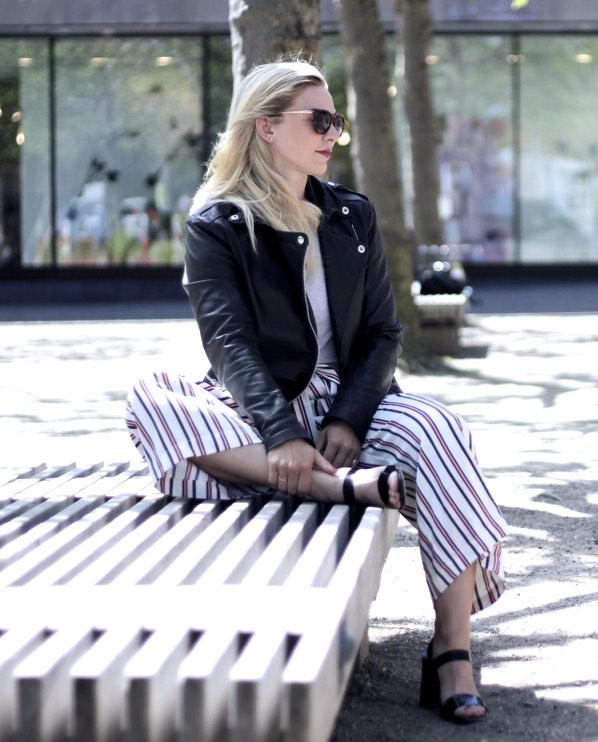 Jeanette Hardis Odense blogger blog odensebloggers outfit zara asos bukser læderjakke flakhaven magasin look